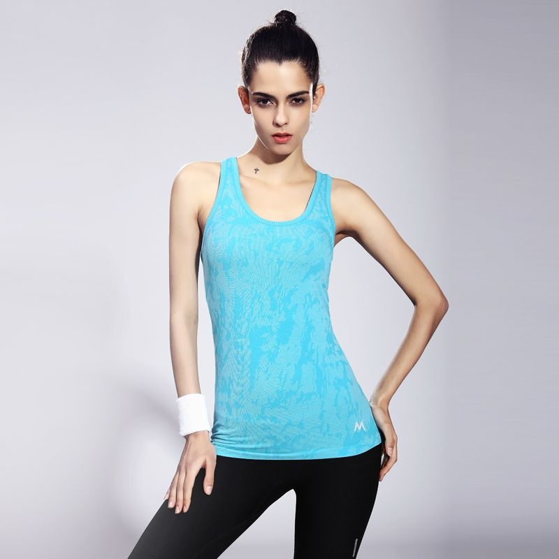 91eee03c55929 Printed Flore Purple Women Yoga Shirts Running Tights High Quality Female  Sports Tank Tops Workout Comfortable Ladies Yoga Wear