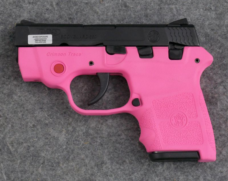 Smith & Wesson BodyGuard 380 Pink Madness Edition 380 ACP Pistol, Laser…Find  our