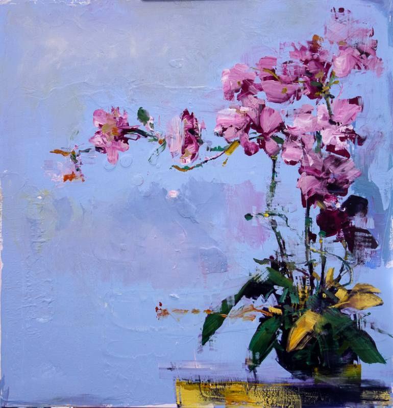 "Saatchi Art Artist carmelo blandino; Painting, ""Dreaming Blue I"" #art"