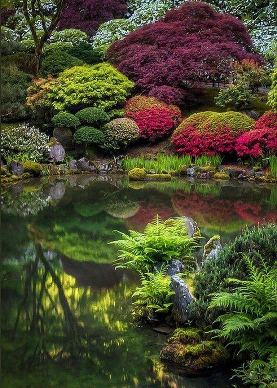 80+ Stunning Japanese Zen Gardens Landscape for Your Inspirations #zengardens
