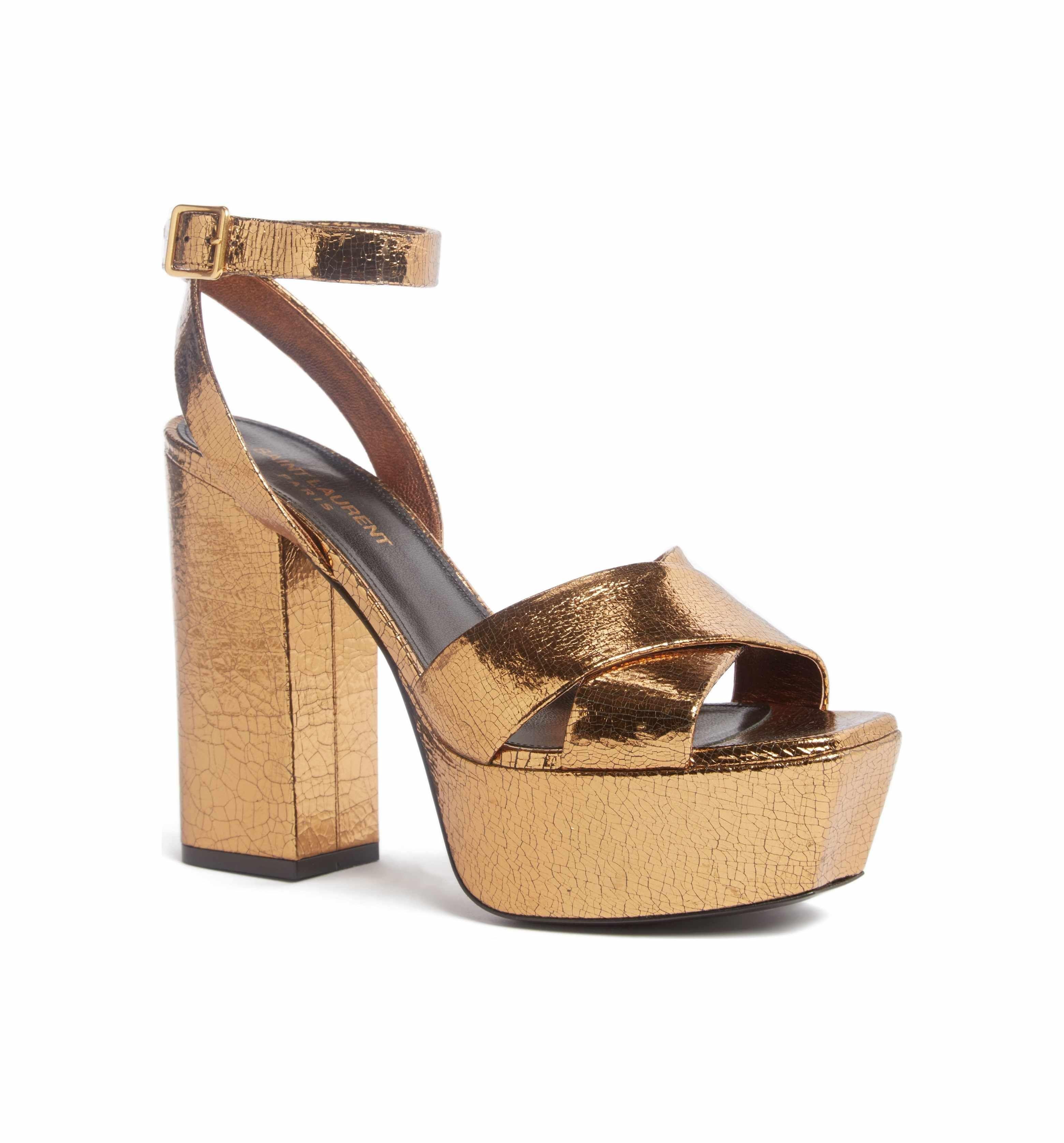00739dd7e2a Main Image - Saint Laurent Farrah Platform Sandal (Women)