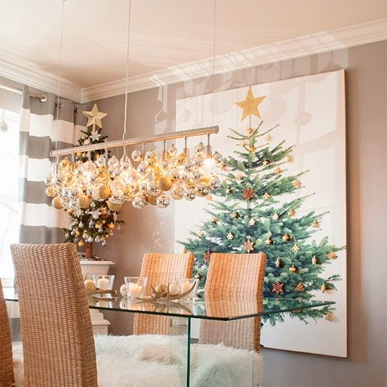 Find Out How To Make This Large Christmas Tree Canvas Which Is Perfect If You Don