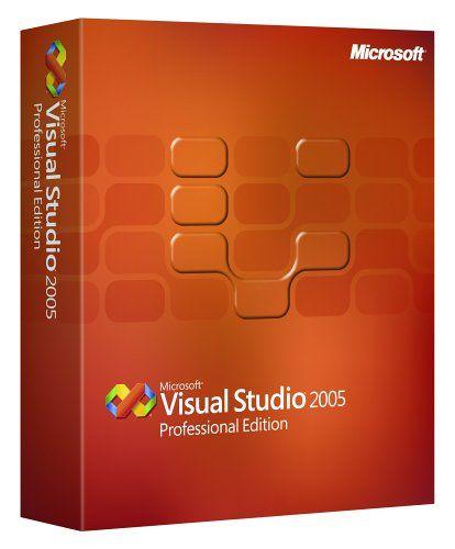 Microsoft Visual Studio Professional 2005 Upgrade Old Version Microsoft Visual Studio Web Development Programming Microsoft