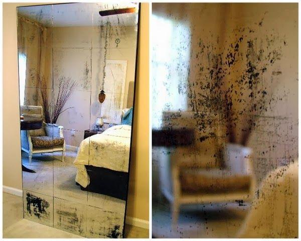 Emérita Desastre: DIY: Espejos envejecidos