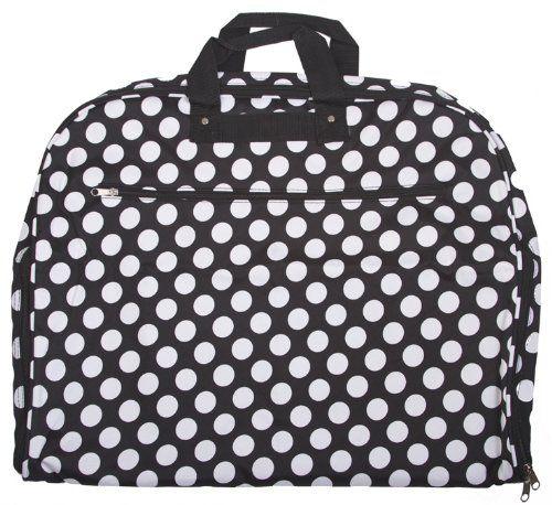 $34 World Traveler Black White Polka Dot 40-inch Hanging Garment Bag World Traveler,http://www.amazon.com/dp/B007NZI75A/ref=cm_sw_r_pi_dp_p0Qjsb1YAG48PN65