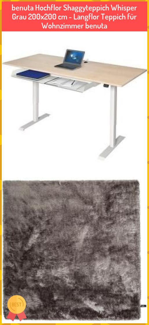 Benuta Hochflor Shaggyteppich Whisper Grau 200x200 Cm Langflor Teppich Fur Wohnzimmer Benuta Benuta Hochflor Shaggyteppich Whi In 2020 Decor Home Decor Furniture