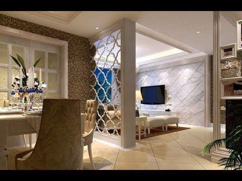 تصاميم و ديكورات فواصل خشبية لتقسيم الصالونات واضفاء لمسة جمالية على ال Living Room Partition Room Partition Divider Design
