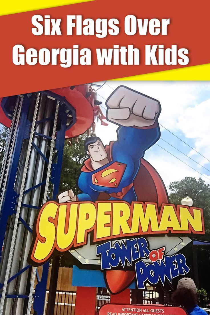 Six Flags Over in Atlanta With Kids Kids