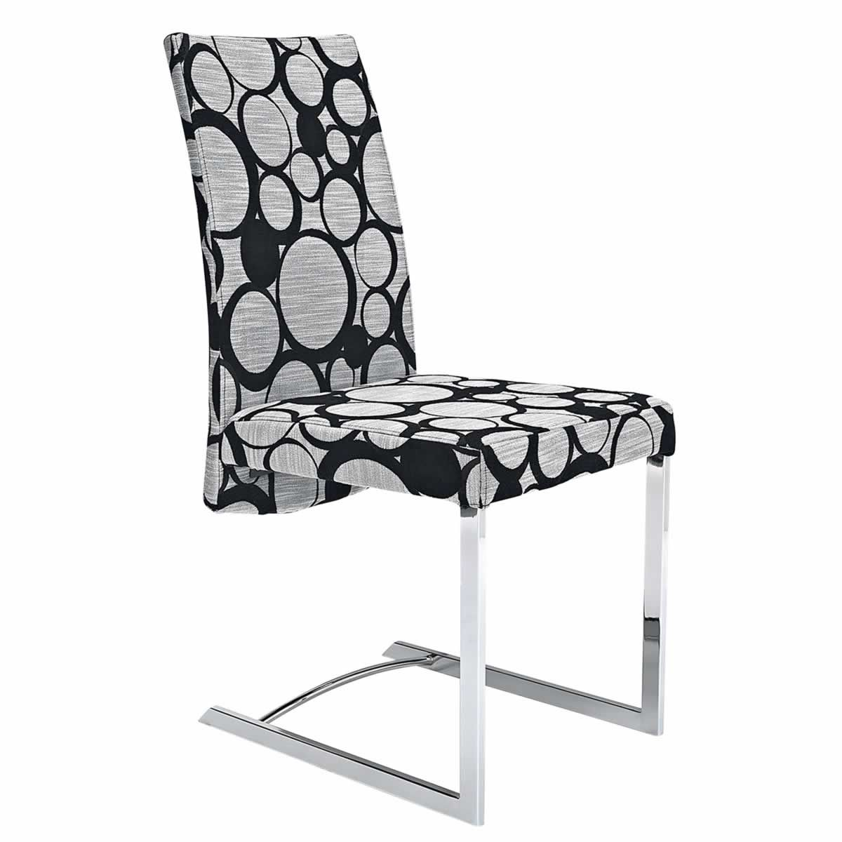Karney Black/Circle Dining Chair From Domayne Online