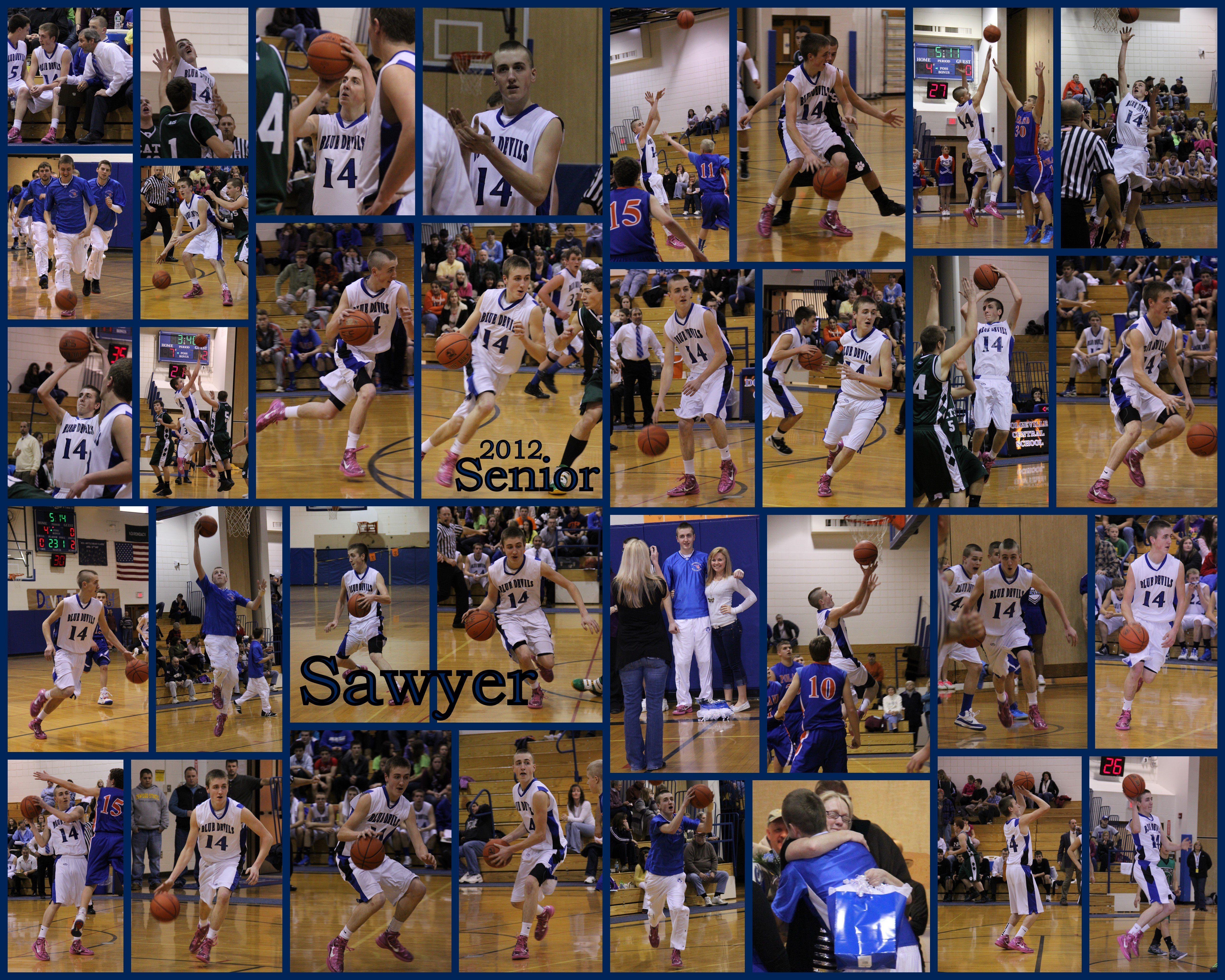 collage sports collages sport sawyer 16x20 visit