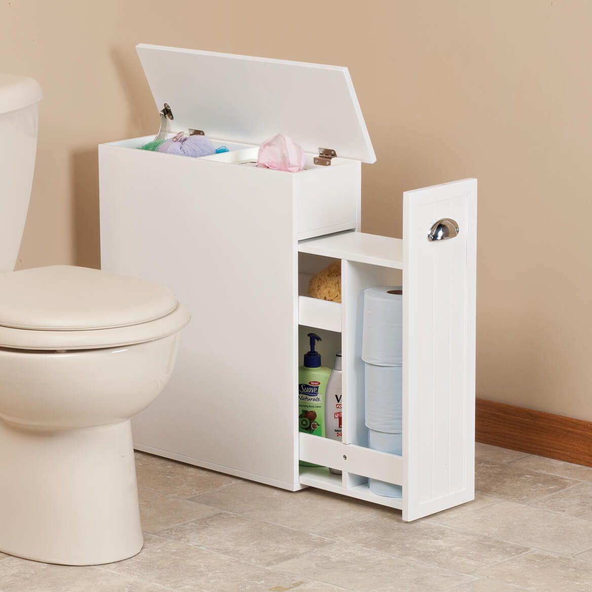 Slim Bathroom Storage Cabinet By Oakridge Badezimmer Klein