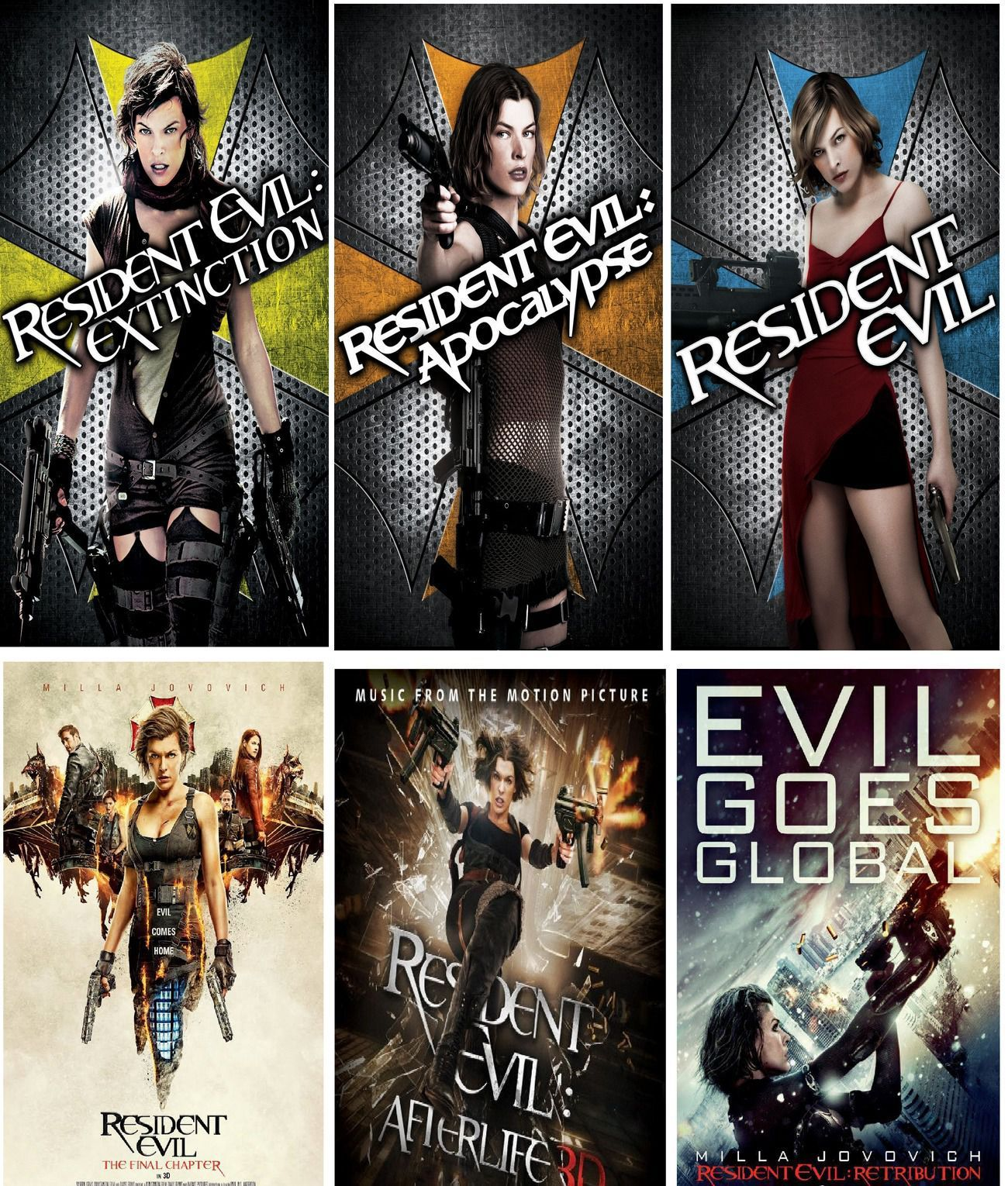 Resident Evil Movies 2002 2017 Collection Tamil Dubbed Hd
