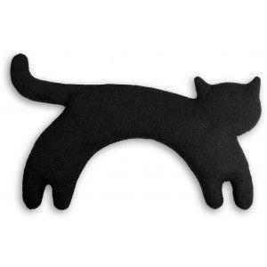 Warmekissen Katze Minina Stehend Neck Pillow Warmekissen Katzen Kissen Kissen