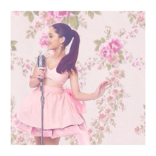Girly Put Your Hearts Up And Pink Ariana Grande The Way