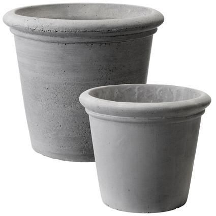 Charmant Potting And Planting|Grey Plant Pots