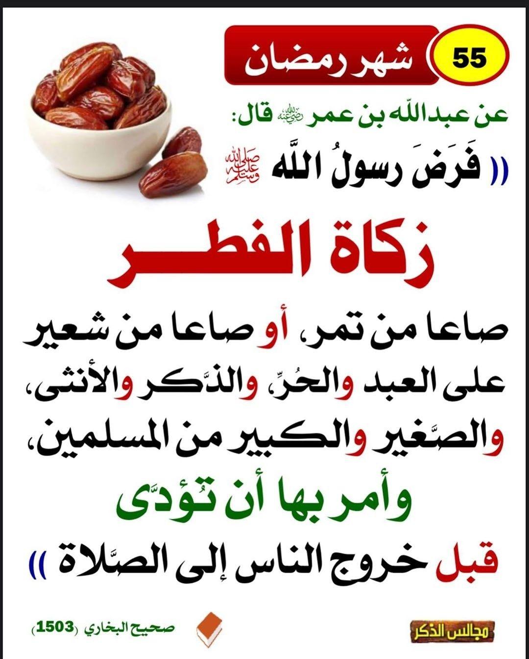 Pin By عبق الورد On أحاديث نبوية ١ In 2020 Islam Facts Ahadith Ramadan