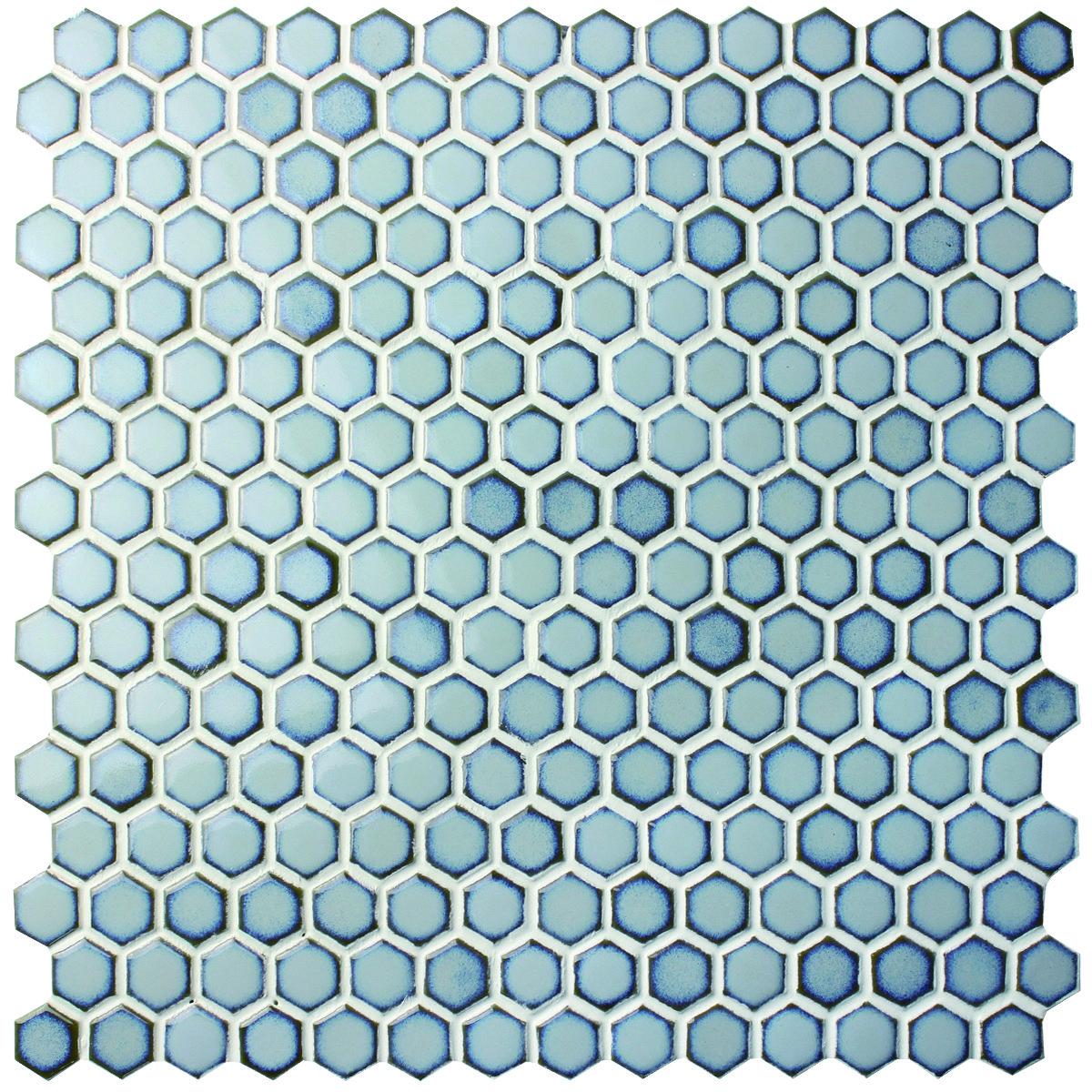 Hexagon Ceramic Mosaic Tiles At Bluwhaletile Available In Wide