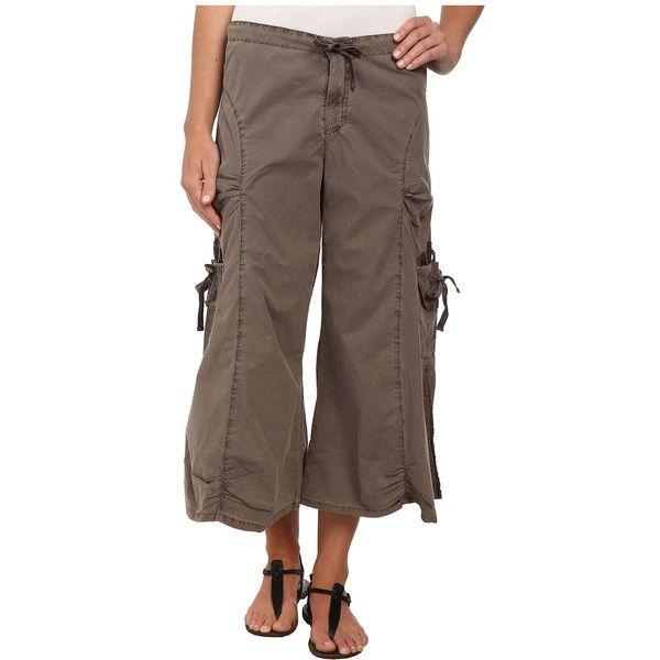 XCVI Cargo Gaucho Crop Women's Capri ($74) ❤ liked on Polyvore ...