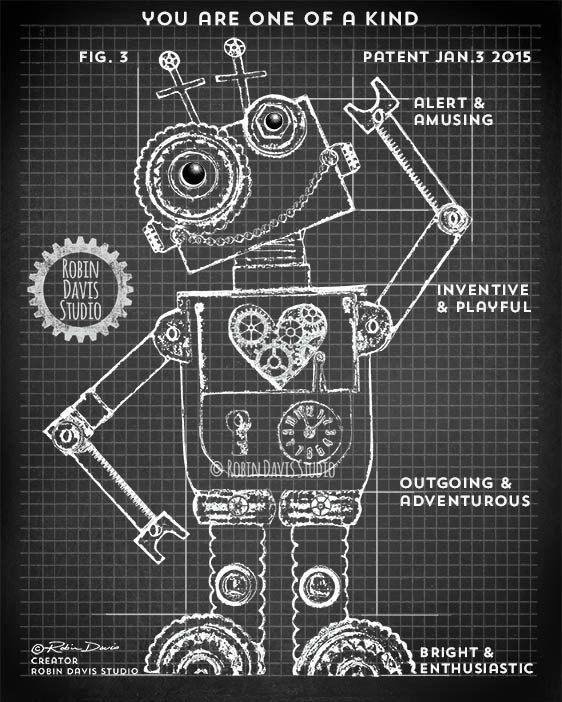 Patent print set toy robot prints robot nusery decor robot patent print set toy robot prints robot nusery decor robot patent prints retro toy robot blueprints robotics robin davis studio malvernweather Gallery