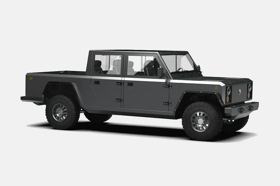 Bollinger B2 Pickup Truck Electric Pickup Truck Pickup Trucks Electric Truck