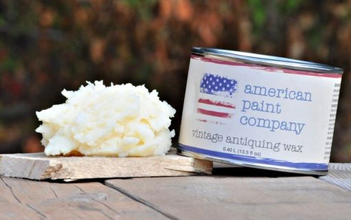 American Paint Company's all natural, non VOC, plant based wax is available to finish, enhance and provide  a sealer for your piece.