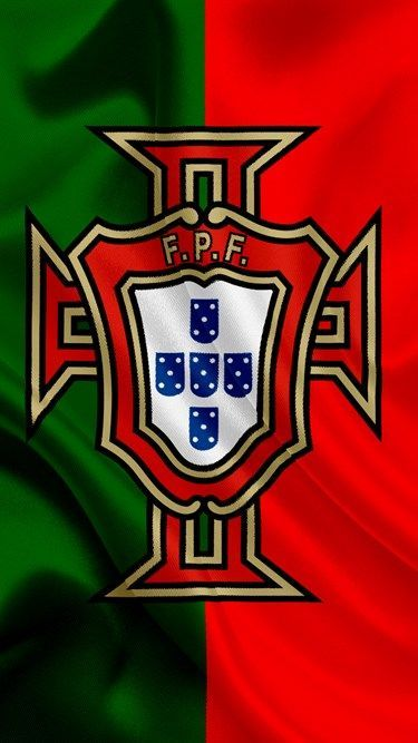 Portugal national football team, emblem, logo, football federation, flag, Europe, flag of ...