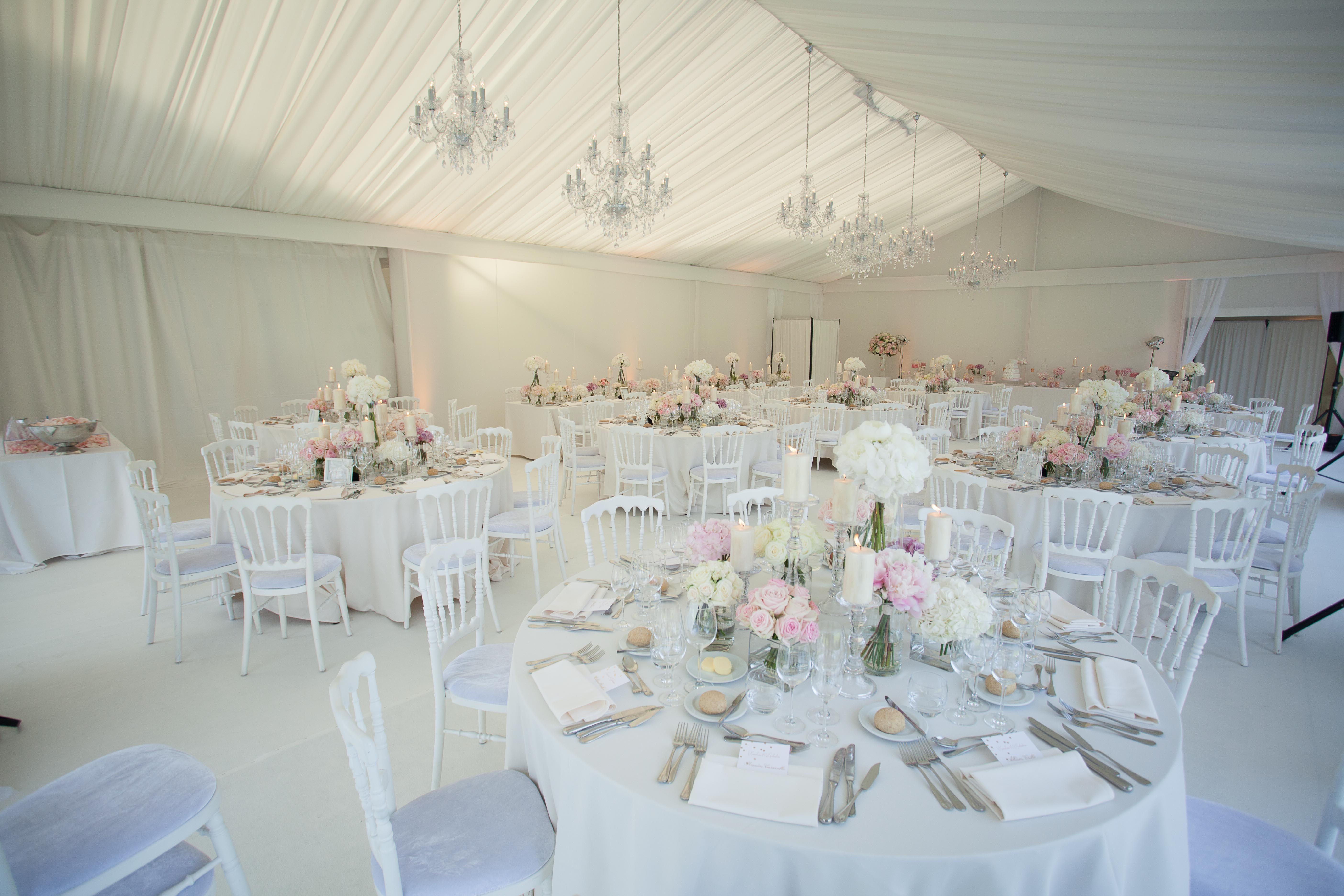 Décoration Mariage Glamour Chic Et Romantique Table S
