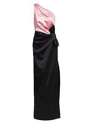 St. John Women's Bonded Duchess Satin Bow Gown #duchesssatin St. John Bonded Duchess Satin Bow Gown #duchesssatin St. John Women's Bonded Duchess Satin Bow Gown #duchesssatin St. John Bonded Duchess Satin Bow Gown #duchesssatin