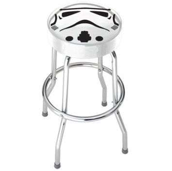 Amazon Com Star Wars Storm Trooper Garage Game Room Home Bar Kitchen Counter Bar Stool With Foot Rest Home Kitchen Garage Stool Stool Bar Stools