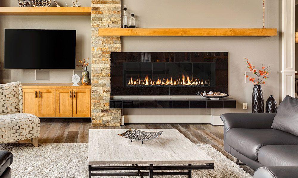 Celeste 48 Hearthstone Home Decor Gas Fireplace