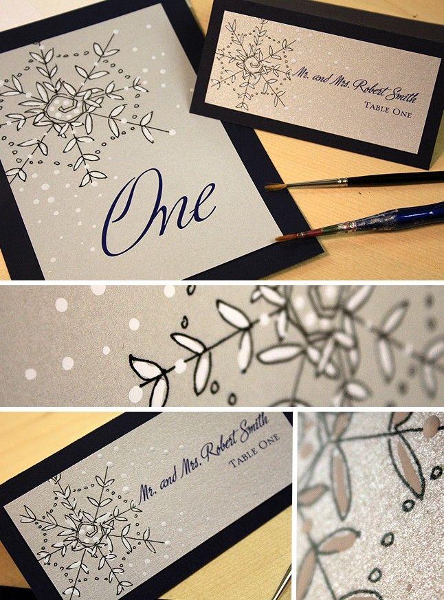 snowflake invitation ideas wedding ideas pinterest invitations