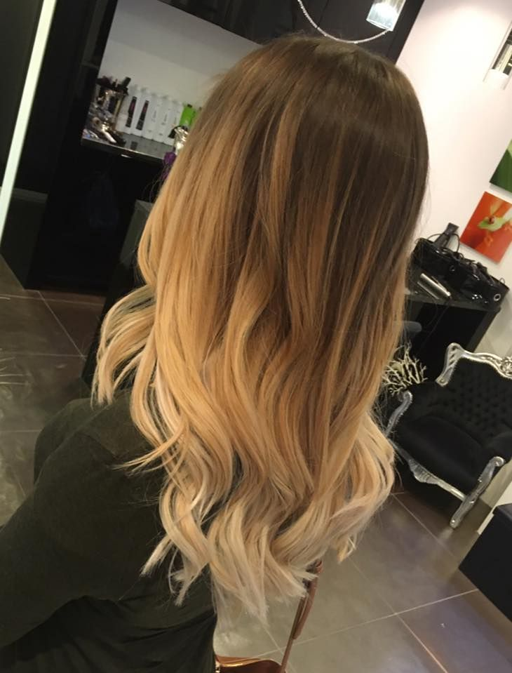 balayage perfekt blond natural verlauf olaplex waves. Black Bedroom Furniture Sets. Home Design Ideas
