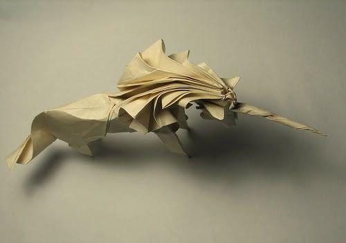 Photo of Origami – Einhorn