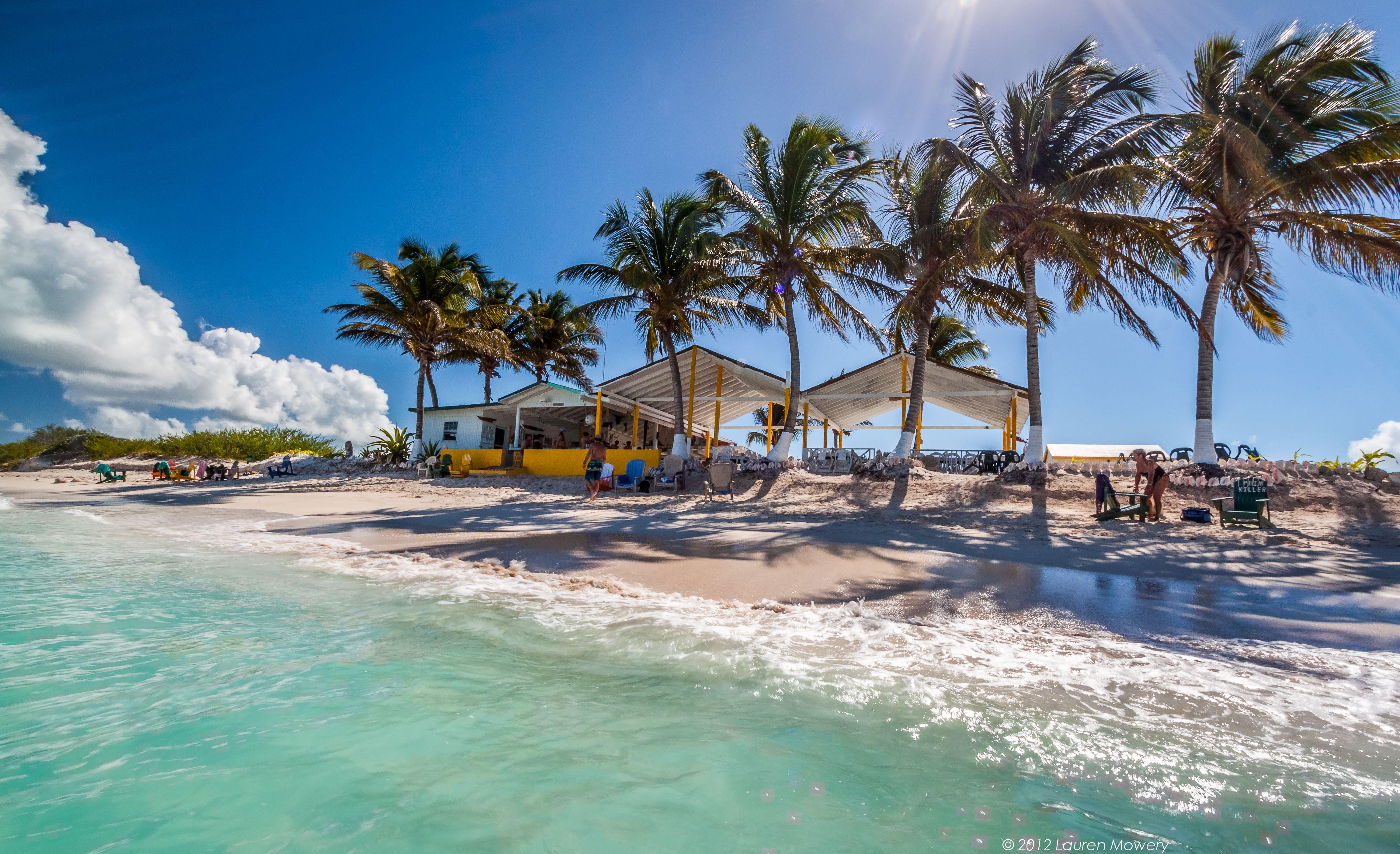 This could be heaven. Cow Wreck beach bar on Anegada, BVI. #Caribbean #BVI