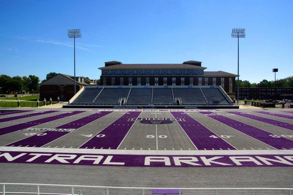 University Of Central Arkansas >> Stadium Gallery Estes Stadium University Of Central