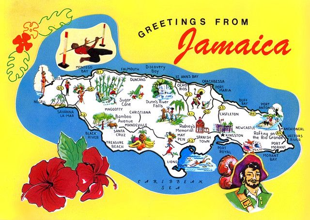 Jamaica my mom has had this as a wooden plaque on her wall  since before I was born lol