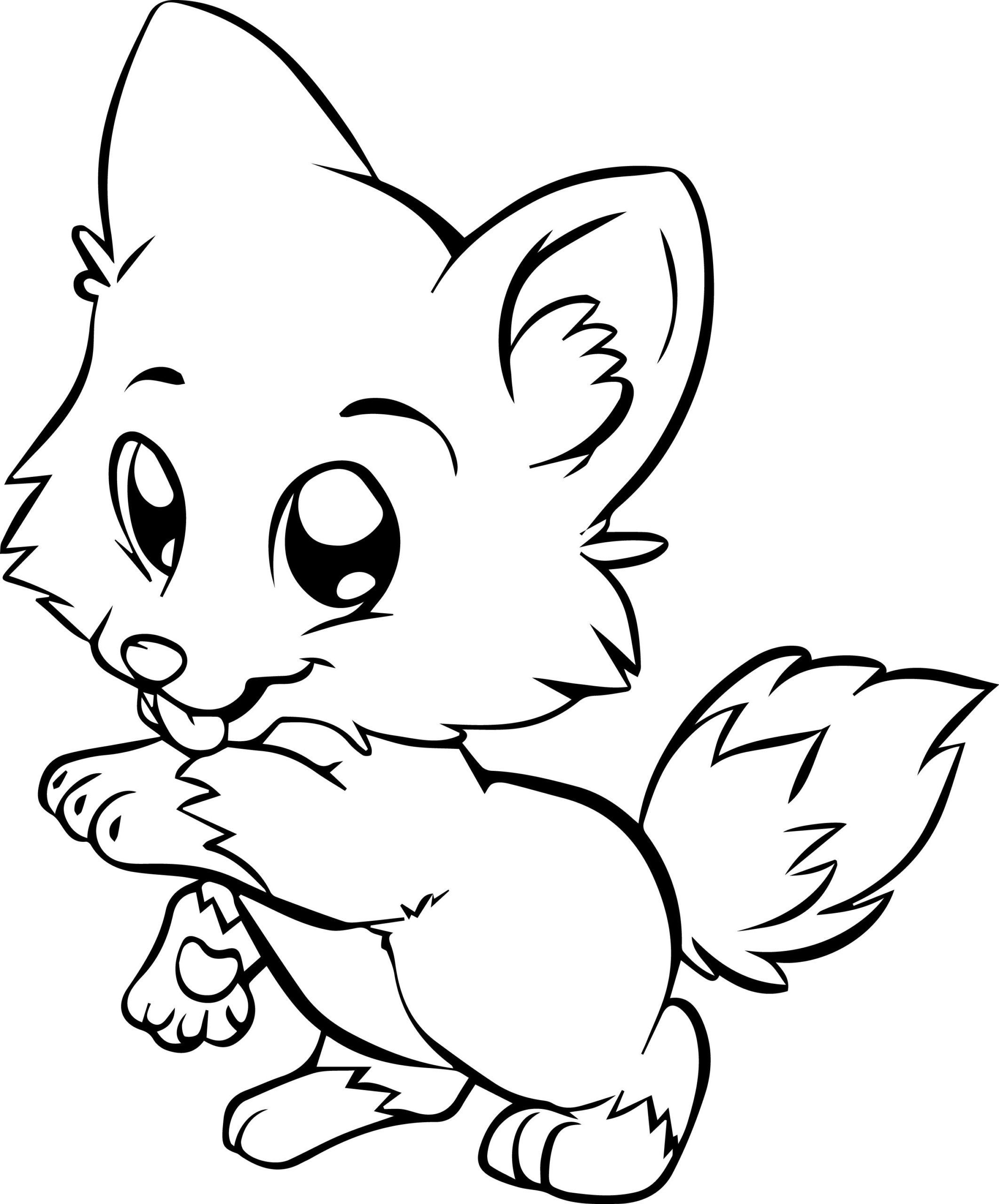 Cute Unicorn Coloring Page Youngandtae Com Unicorn Coloring Pages Fox Coloring Page Animal Coloring Pages