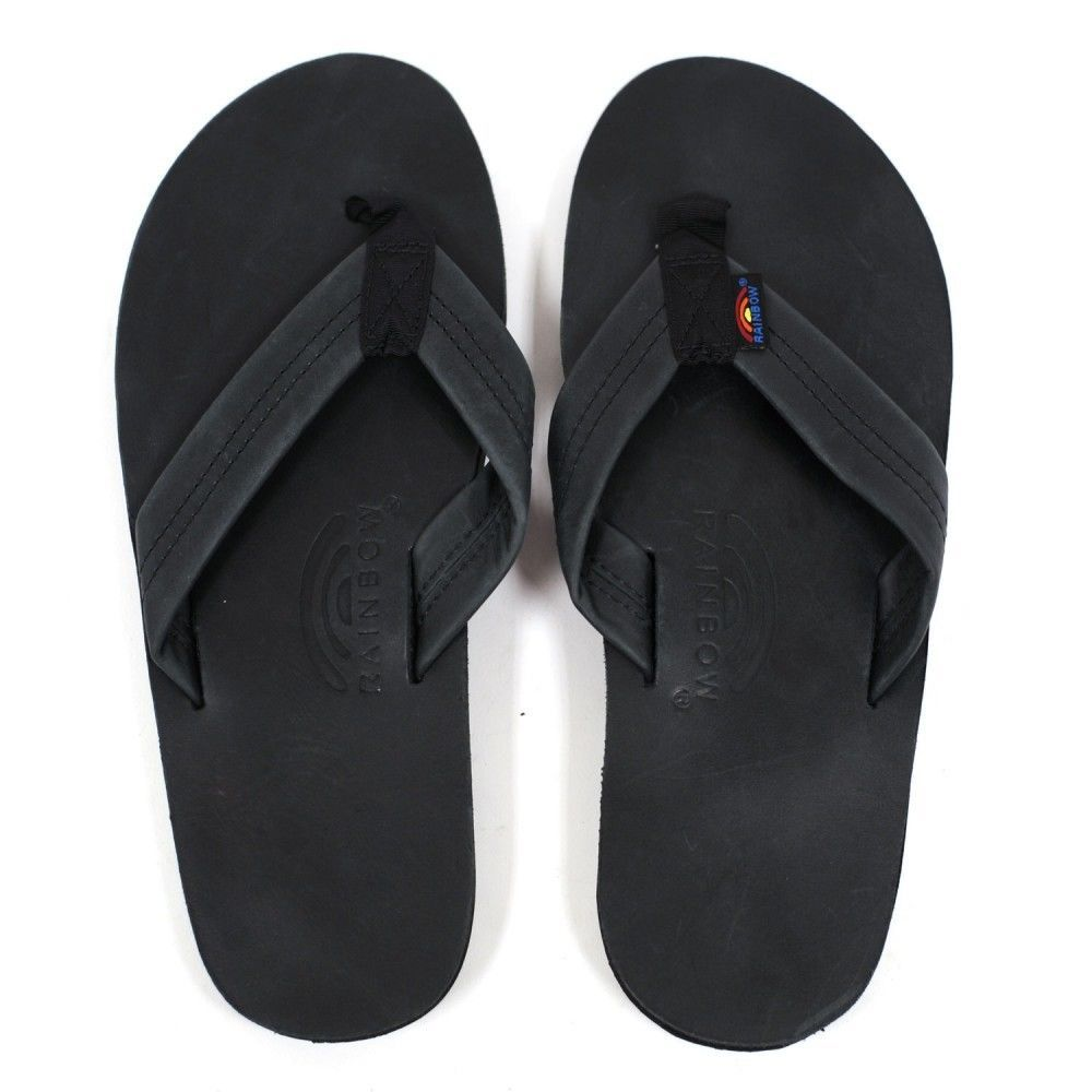 Rainbow Sandal Black Double Layer