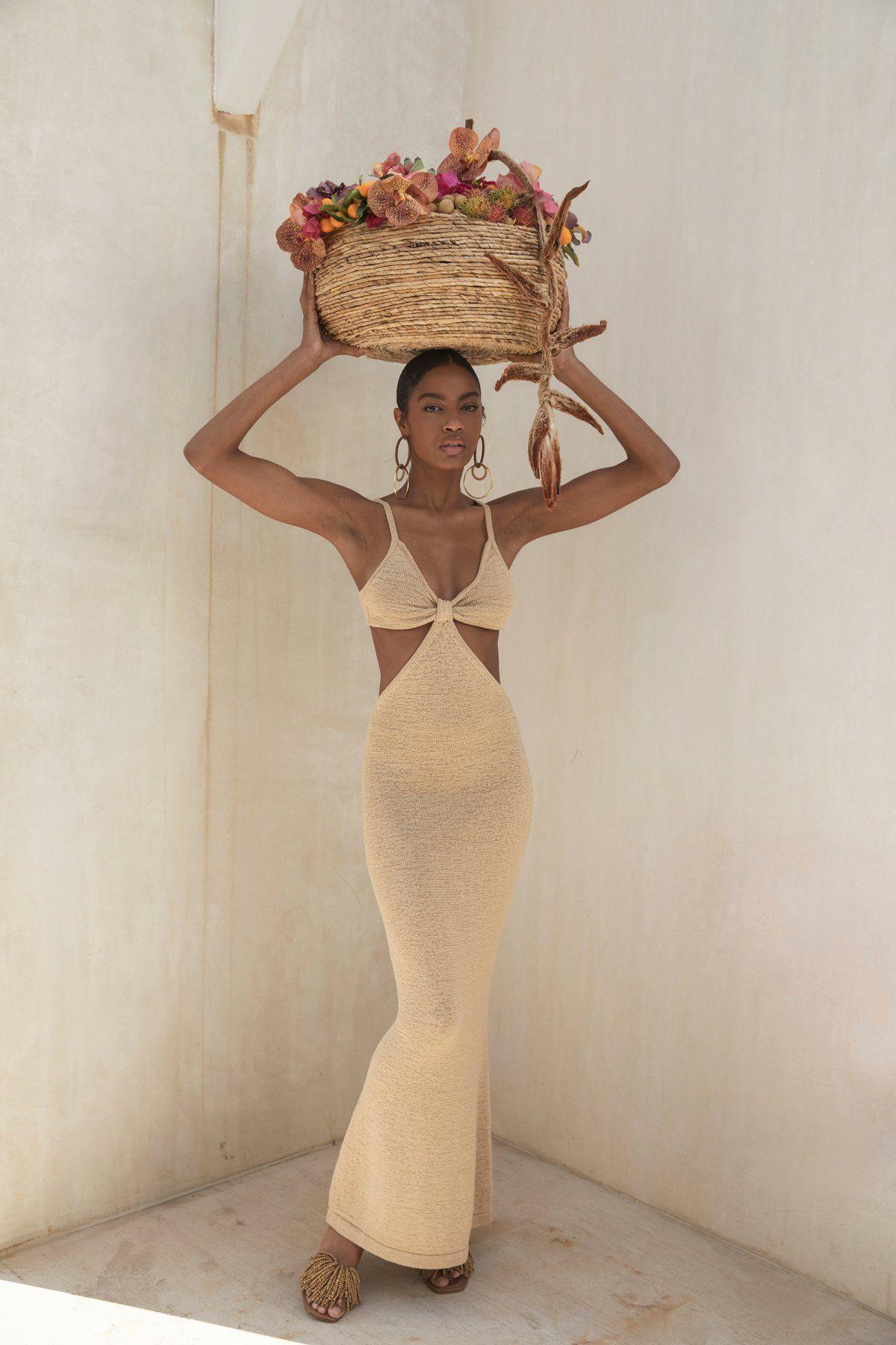 Photo of Serita Dress – Sand (PREORDER)