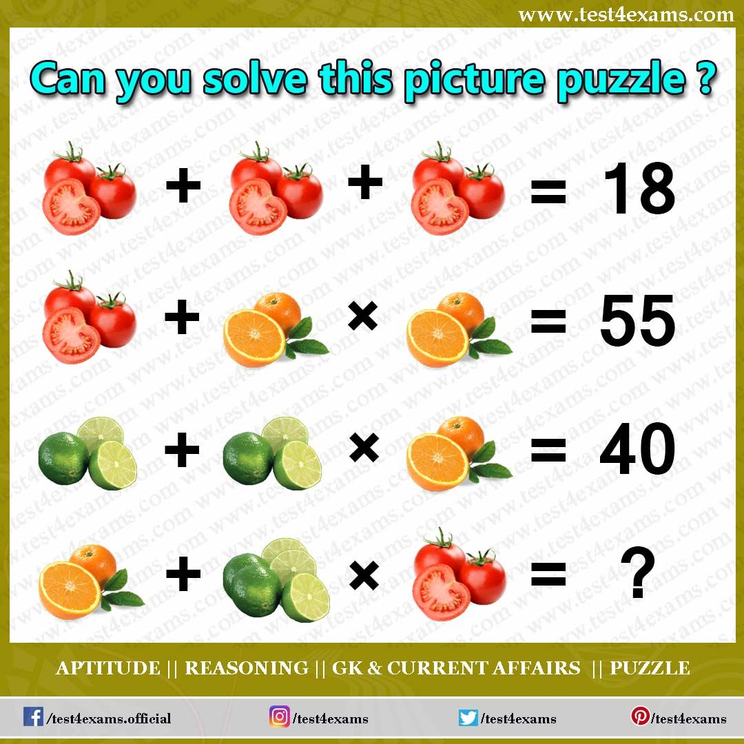 Can you solve this picture puzzle ? Get more brain teaser
