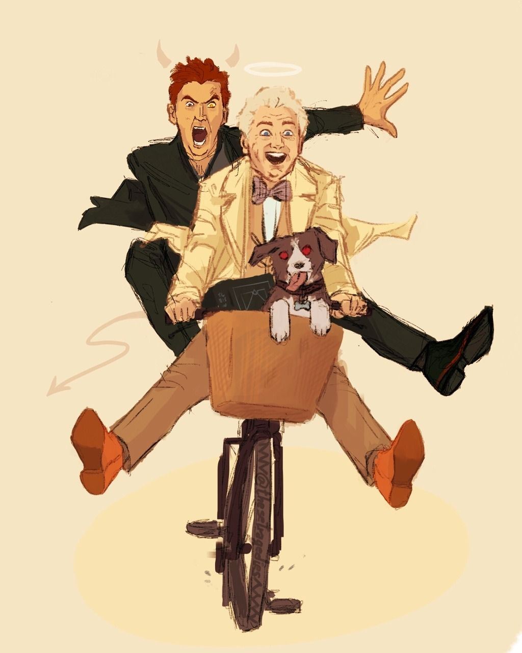 good omens | Tumblr | good omens in 2019 | Fandoms, Good omens book