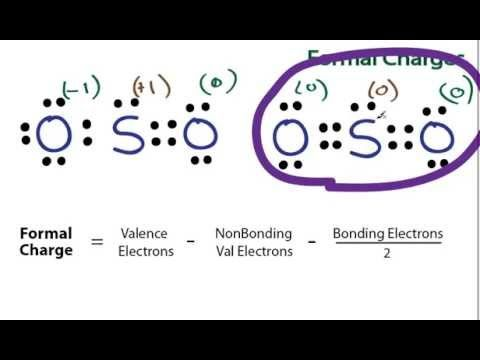 Formal Charges Calculating Formal Charge Secondary Science High School Science Life Science