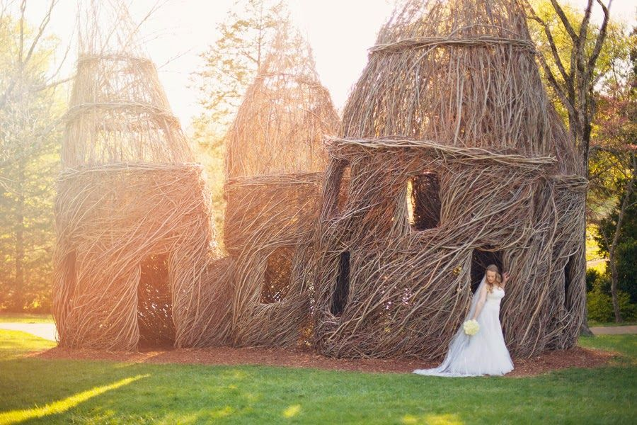 At Cheekwood Botanical Gardens, Nashville Tennessee. From Diana + Shawnu0027s  Wedding. Photo By Kristu2026 | Pinteresu2026