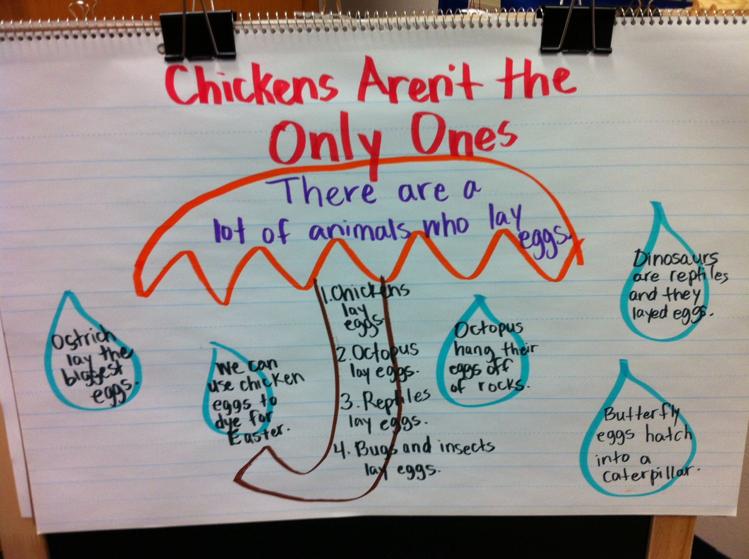 Ela Lesson Main Idea And Supporting Details Love The