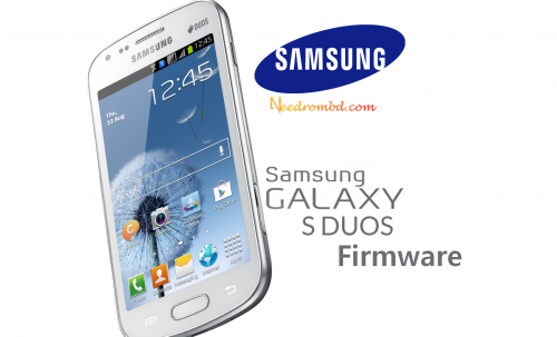 Samsung Galaxy S Duos GTS7562 CHN Firmware Samsung