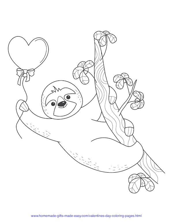 40 Valentine S Day Coloring Pages Pdf Printables In 2020 Valentines Day Coloring Page Valentines Day Coloring Cute Coloring Pages
