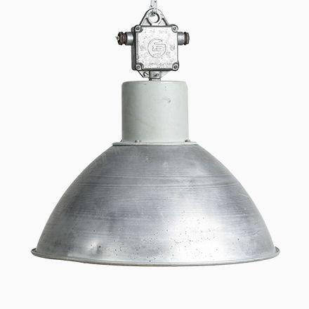 Industrielle Hängelampe Lamp von Elektrosvit, 1970er - deckenleuchten für badezimmer