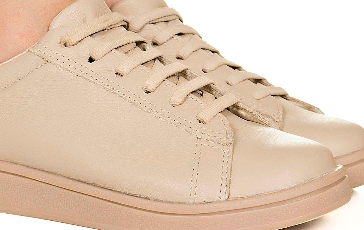 07e4db010c Tênis nude monocolor Taquilla - Taquilla - Loja online de sapatos femininos