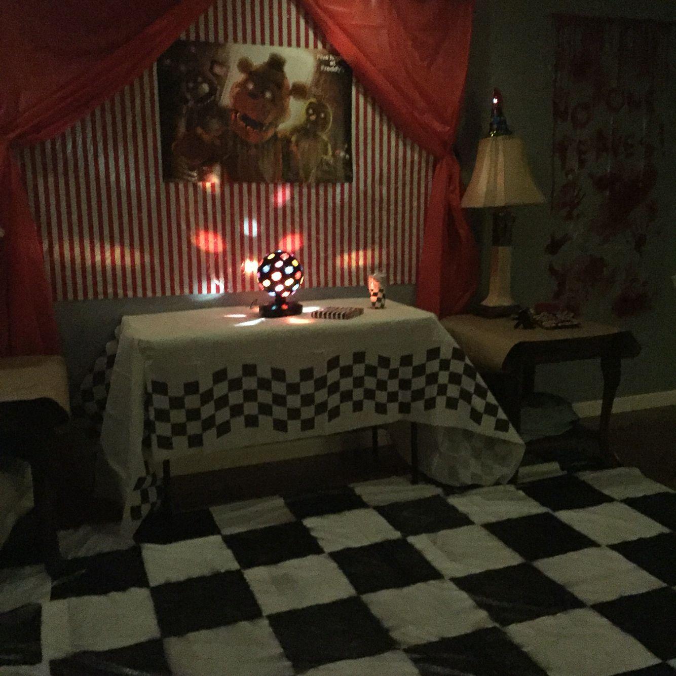 Five Nights at Freddy's Birthday Party | Decoración de ...