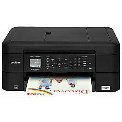 Brother Wireless Color Inkjet All In One Printer Copier Scanner